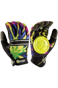 Sector 9 BHNC Slide Gloves Limeburst