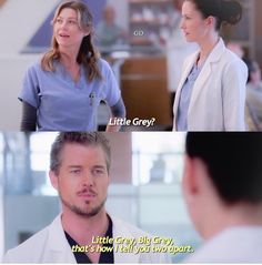 Meredith , Lexie and Mark