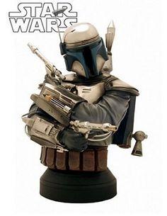 Star Wars 6.5 MiniBust Jango Fett. #Starwars #Statue #Figures #Gosstudio #gift