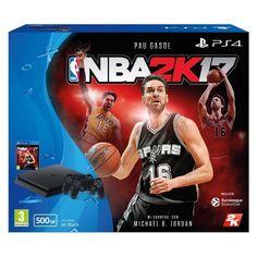 Siguen las ofertas de Black Friday en The Shop Gamer en ebay hasta el martes 12AM o agotar existencias. Como pack PS4 Slim 500GB con dos nuevos mandos DualShock4 y el juego NBA 2K17 por 309,95€ con envío rápido y gratis.