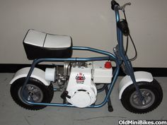 Old Mini Bikes for Sale | MTD Trail-Flight Very Nice !! *~* For Sale or Trade *~* - OldMiniBikes ...