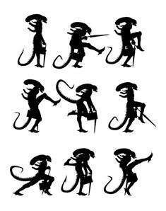 the ministry of alien silly walks