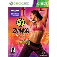 Product DescriptionJoin the party with Zumba Fitness, a one-of-a-kind, dance fitness workout set to sexy, high-energy Latin and International music. Find your rhythm and let go as Zumba instructor fan favorites Gina Grant, Tanya Beardsley and Zumba's creator Beto guide you through 30 routines that will work you into a sweat and make you forget you're even exercising. Featuring exclusive music and choreography, Zumba Fitness for Microsoft Kinect* lets you see yourself on scree