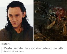 Image result for loki's o face