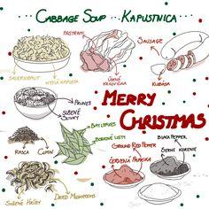 Christmas Cabbage soup - by Livia Prudilova - Anglicky efektívne
