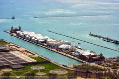 Chicago's Hancock 360 Views,--Navy Pier