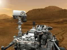The Curiosity Rover Explores Mars