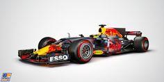 Red Bull geeft voor aanvang testdag studiofoto RB13 vrij