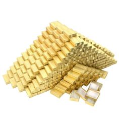 Cotton Filled Jewelry Gift Boxes Gold Color 2 1/8' 400Pcs * See this awesome image  (This is an amazon affiliate link. I may earn commission from it)