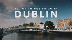 Check out our 10 top things to do in Dublin. This beautiful city offers something for everyone, from the bustle of Temple Bar to the tranquility of the Phoen. Dublin Ireland, Ireland Travel, Tourism Ireland, Stuff To Do, Things To Do, Croke Park, Visit Dublin, Temple Bar, Ireland