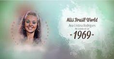 Resultado de imagem para miss  ceara 1969