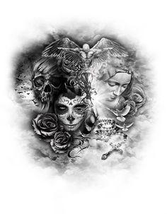 www.customtattoodesign.net wp-content uploads 2014 04 good-v-evil.jpg