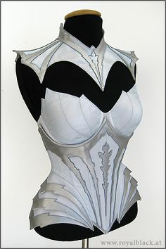 Jadis corset outifit from Royal Black. What context could this be worn in? I have no clue but ain't it gorgeous?!