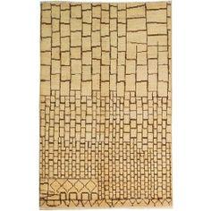 New Contemporary Pakistan Moroccan 65371 - Area Rug area rug