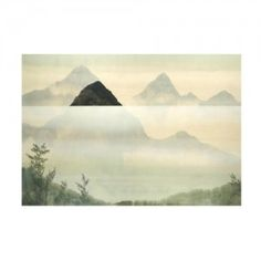 Mountains in the Mist 36x25