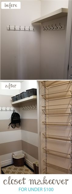 UNDER THE STAIRS CLOSET REVEAL!