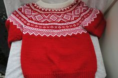 Mariusmønstret genser