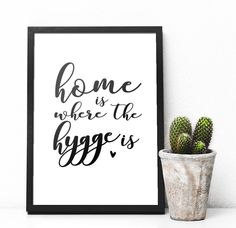Home Is Where The Hygge Is Print | New Home Gift | Housewarming Present | Hygge Print | Home Decor | Wall Art by boobooskins on Etsy https://www.etsy.com/uk/listing/501708603/home-is-where-the-hygge-is-print-new #hygge #homedecor #wallart #homesweethome #homeaccessories | home decor | wall art | home print | home is where the heart is | living room | office | cosy