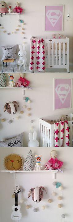 Bloom Alma Mini + Pink Cross Baby Blanket #crossblanket