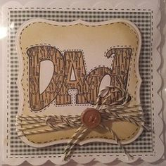 Dad fathers day card,