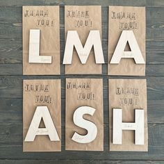 the perfect gift for your guests. #kidspartyideas #favours #personalizedfavors Party Favors, Favours, Personalized Favors, Wooden Letters, Tulips, How To Apply, Tea, Design, Wood Letters