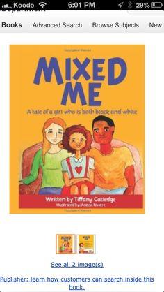 Children's Book for mixed race kids