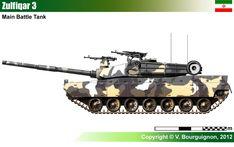 Zulfiqar 3 Main Battle Tank