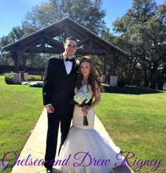 Congratulations to the new Mr. and Mrs. Rigney! The couple celebrated their #wedding here at Gabriel Springs on February 7, 2015 and we couldn't be happier for them!