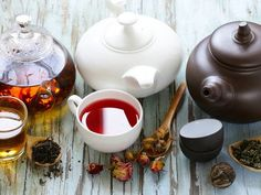 Tee gegen Fett