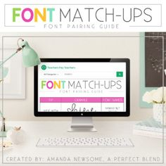 Looking for tips to help create well-designed and visually appealing resources? This guide provides tips, examples and font names to help take your designs to the next level.  Font license(s) allows you to:* use the font for one user on multiple computers/devices* sell products you create using the font on/in the product (Teachers Pay Teachers products, t-shirts, mugs, etc.)* use the font in a logo, graphic, or advertisement You are not permitted to: * claim the font as your own work* sell…