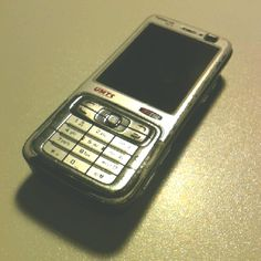 my first smartphone, nokia n73, 2006.