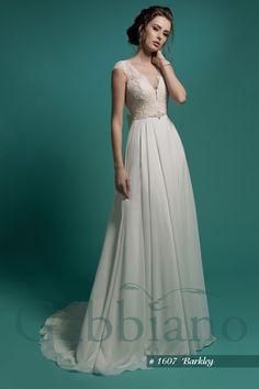 Свадебное платье с кружевным корсетом цвета айвори (#02 G101), цена 27900 руб - фото | «Белый Авантаж»