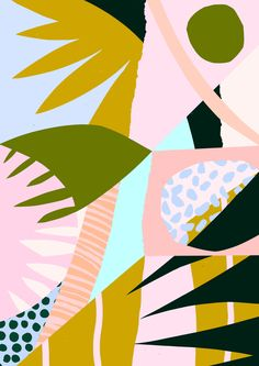 'Untitled' by Tom Abbiss Smith  #abstract #art #contemporary #collage #surface #pattern #design