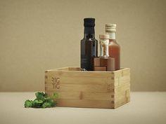 RIG-TIG - Woodstock kasse - opbevaring - bakke til olier og krydderier - køkken indretning - inspiration til køkkenet - idéer til opbevaring i køkkenet.