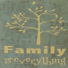 Family is everything sign. And isn't that the truth?! This piece has several thin and transparent layers as the background. Thanks for looking. See more of what I do at http://artsolovely.storenvy.com or https://www.etsy.com/people/artsolovely.