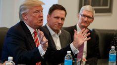 Apple und Co. gegen Trump: US-Konzerne verurteilen Einreisebann