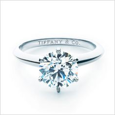 Tiffany & Co Engagement Ring, love!