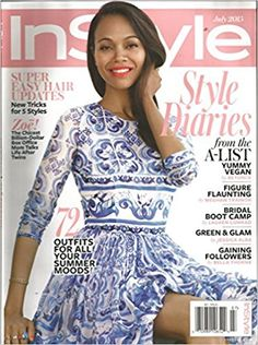 InStyle Magazine (July 2015, Lauren Conrad, Jessica Alba)  Style Diaries. Super easy hair updates with new tricks for 5 styles. Life After Twins. 72 stylish summer outfits. Yummy Vegan. Figure flaunting. Bridal boot camp. green & glam. Gaining Followers