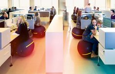 http://www.designboom.com/design/exercise-ball-vs-office-chair-weighing-the-benefits/