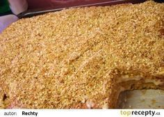 cz - My site Baking Recipes, Cookie Recipes, Czech Recipes, Something Sweet, Sweet Desserts, Banana Bread, Deserts, Food Porn, Food And Drink