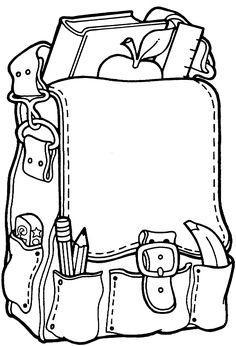 Back-to-school coloring sheet, make multiple copies onto cardstock and use as name tags for cubbies?