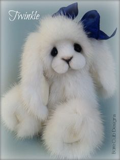 Twinkle my little star bunny, by Helen Gleeson of Bare Cub Designs