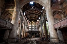 abandoned churches | Seven Creepy Abandoned Churches