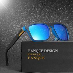 b95e7fdfc4f9af Polarized 2018 New Hot Brand Designer Sunglasses Men Women For Car Driving  Squared Rayed Mirror Sun