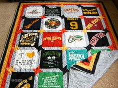 Custom T-Shirt Quilts by MyTyme Creations
