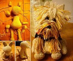 Amigurumi Yorkie FREE Crochet Pattern