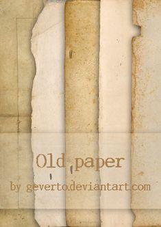 Old paper by geverto.deviantart.com on @deviantART