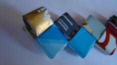 Når genbrug bliver guld...: DIY - FLETTET TASKE MED FLAD BUND
