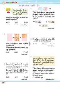 2. Sınıf Soru Bankası Matematik Süper Kitap Bullet Journal, Math, Words, Math Resources, Horse, Mathematics