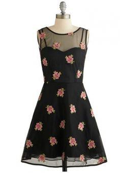 Modokurosu (ModCloth) mini vestido É um vestido de Date Night 1